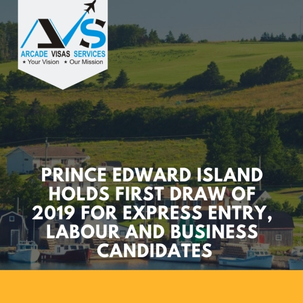 Prince Edward Island holds first draw of 2019 for Express Entry, Labour and Business candidates
