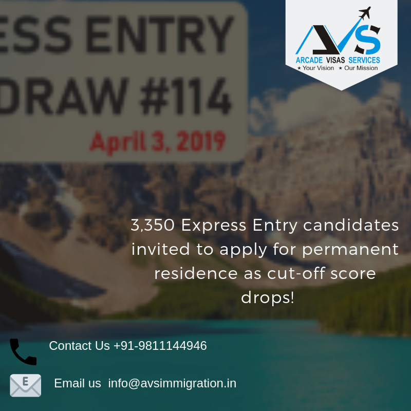 Latest Express Entry Draw 3 April 2019