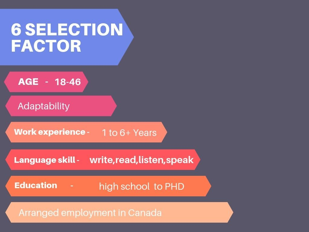 6 selection factor